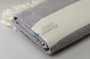 Diamond Peshtemals Bathroom Towels