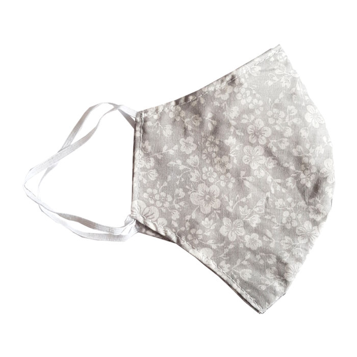 washable face mask with nose wire