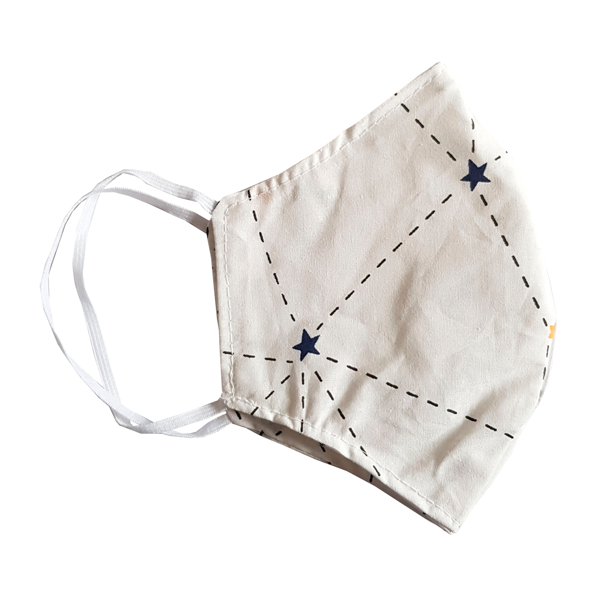 reusable cotton face mask with nose wire